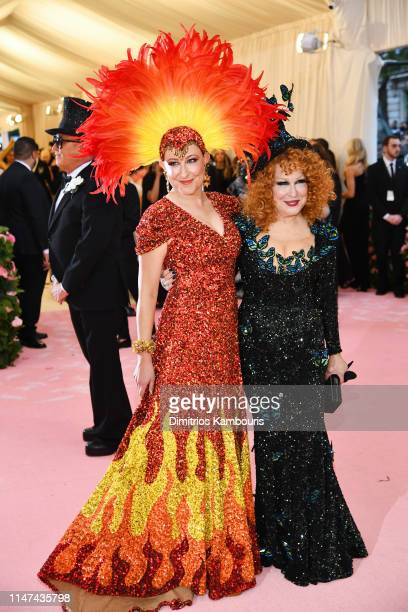 Sophie Von Haselberg and Bette Midler attends The 2019 Met Gala Celebrating Camp Notes on Fashion at Metropolitan Museum of Art on May 06 2019 in New...