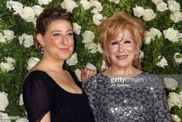 Sophie Von Haselberg and singer/actress Bette Midler attend the 71st Annual Tony Awards at Radio City Music Hall on June 11 2017 in New York City