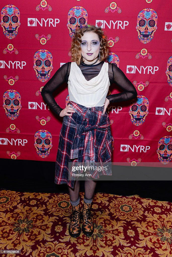 Sophie Von Haselberg attends Bette Midler's Annual Hulaween Bash celebrating the New York Restoration Project at the Waldorf=Astoria on October 28, 2016 in New York City.