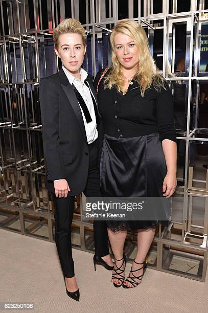 Sophie Watts and Amanda de Cadenet attend Glamour Women Of The Year 2016 at NeueHouse Hollywood on November 14 2016 in Los Angeles California