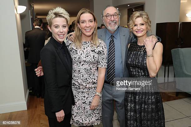 Sophie Watts Antonia Romeo James L Brooks and Kyra Sedgwick attend A Conversation On Trailblazers Women In The Workplace with Ariana Huffington...