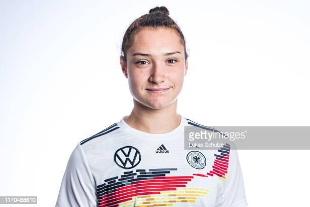 Sophie Weidauer poses on August 27 2019 in Tilburg Netherlands