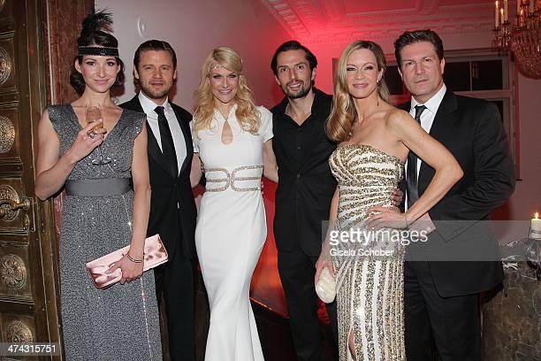 Sophie Wepper and boyfriend David Meister Natascha Gruen and boyfriend Quirin Berg Verena Klein and husband Francis Fulton Smith attend the...