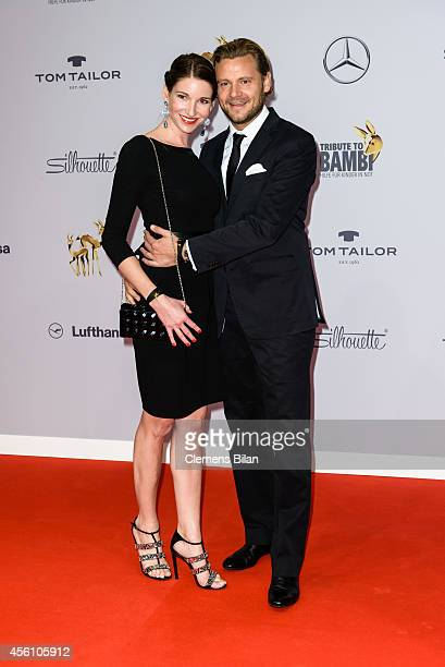 Sophie Wepper and David Meister attend the Tribute To Bambi 2014 at Station on September 25 2014 in Berlin Germany