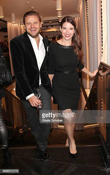 Sophie Wepper and her boyfriend David Meister during MaryKate Olsen and Ashley Olsen present their collection 'The Row' at Marion Heinrich on...