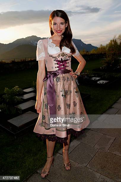 Sophie Wepper during the Kempinski Hotel Berchtesgaden opening party on May 8 2015 in Berchtesgaden Germany
