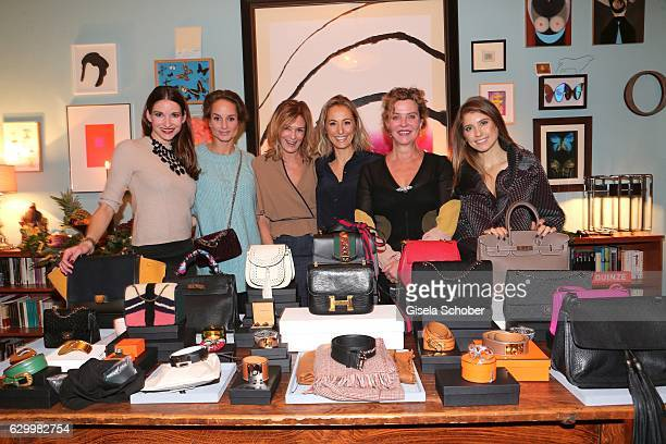 Sophie Wepper Meister Lara Joy Koerner Mon Muellerschoen Fanny Moizant founder of Vestiaire Collective Margarita Broich and Cathy Hummels during the...