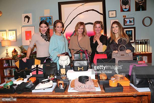 Sophie Wepper Meister Lara Joy Koerner Mon Muellerschoen Margarita Broich and Cathy Hummels during the Mon Muellerschoen Vestiaire Collective charity...