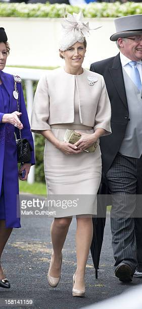 Sophie Wessex On The Third Day Of Royal Ascot