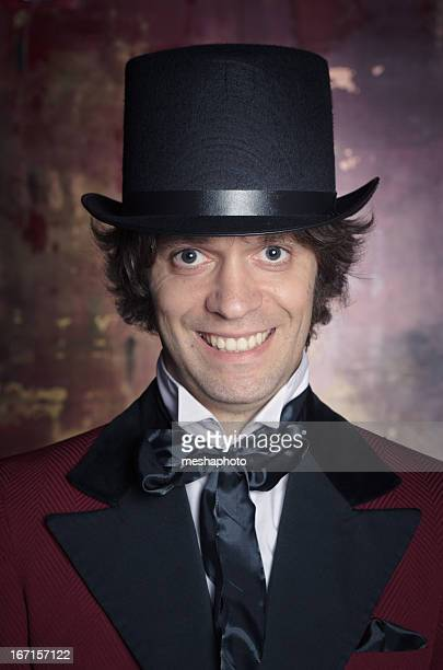 Sophisticated and Classy Looking Man in a Top Hat