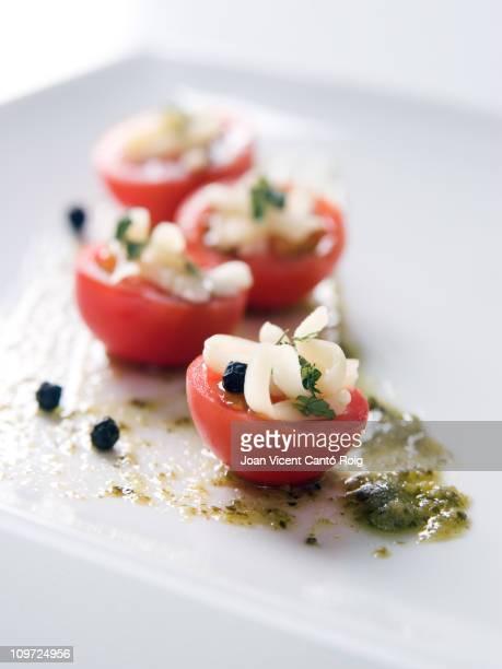 Elegante caprese-Salat