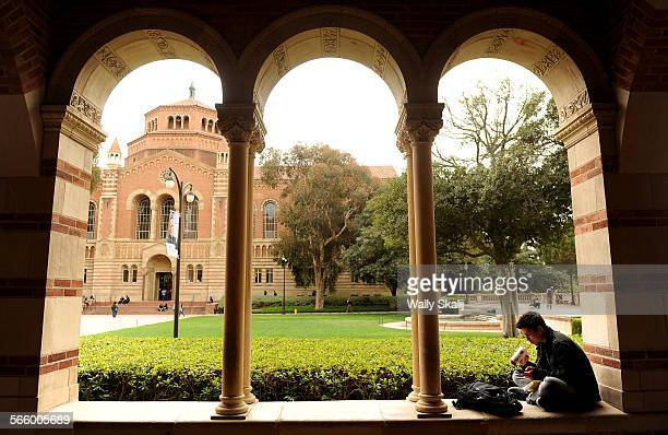 Sophmore Ashton Pike studies on the UCLA campus in Westwood Monday A report that was recently released suggests UC Schools become more autonomous and...