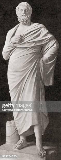 Sophocles, c. 497/6 – 406/5 BC. Ancient Greek tragedian. From Kunstgeschichte In Bildern