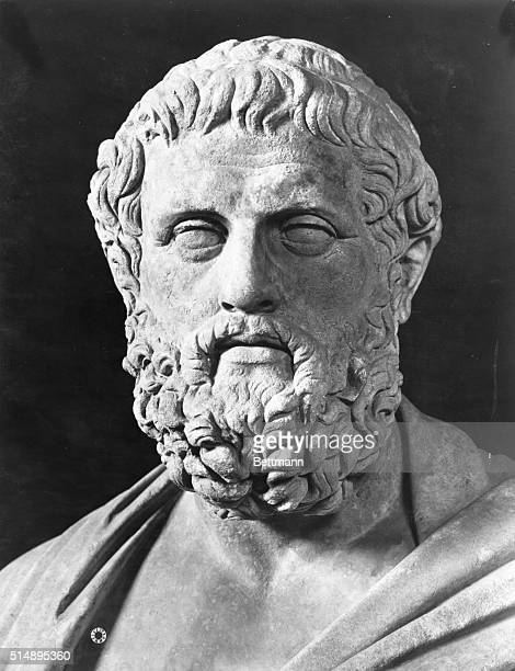 Sophocles. Head of the Greek playwright.