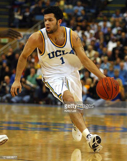 UCLA sophomore guard Jordan Farmar during 6645 victory over USC in Pacific10 Conference basketball game at Pauley Pavillion in Westwood Calif on...