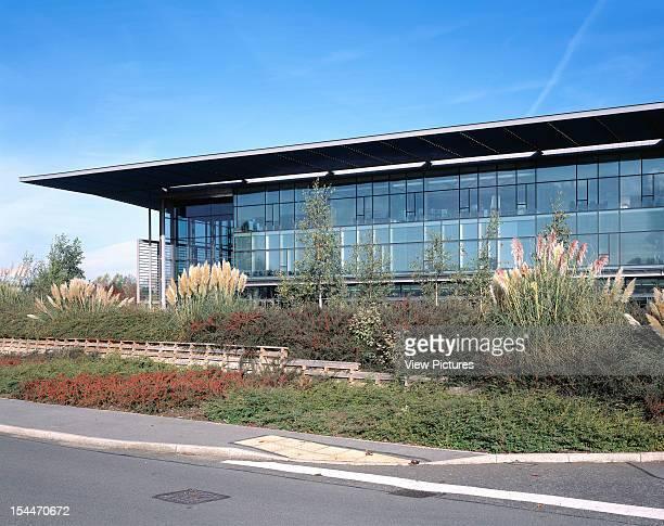 Sophos Plc Headquarters The Pentagon Abingdon United Kingdom Architect Bennetts Associates Sophos Plc Headquarters The Pentagon Exterior View