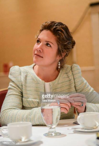 Sopie Grgoire Trudeau speaks Wednesday April 10 2013 at Toronto's Fairmont Royal Hotel during a breakfast meeting where she spoke of her experience...