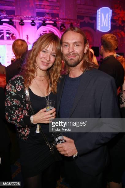 Sopie Rosentreter and Ingo Pohlmann attend the Movie Meets Media event 2017 at Hotel Atlantic Kempinski on November 27 2017 in Hamburg Germany