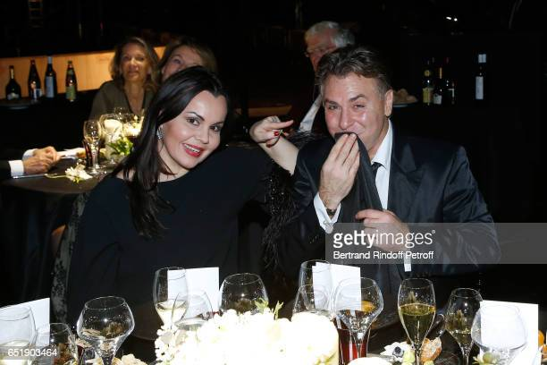 Soprano Alexandra Kurzak and Tenor Roberto Alagna attend the AROP Charity Gala with the representation of Carmen at Opera Bastille on March 10 2017...