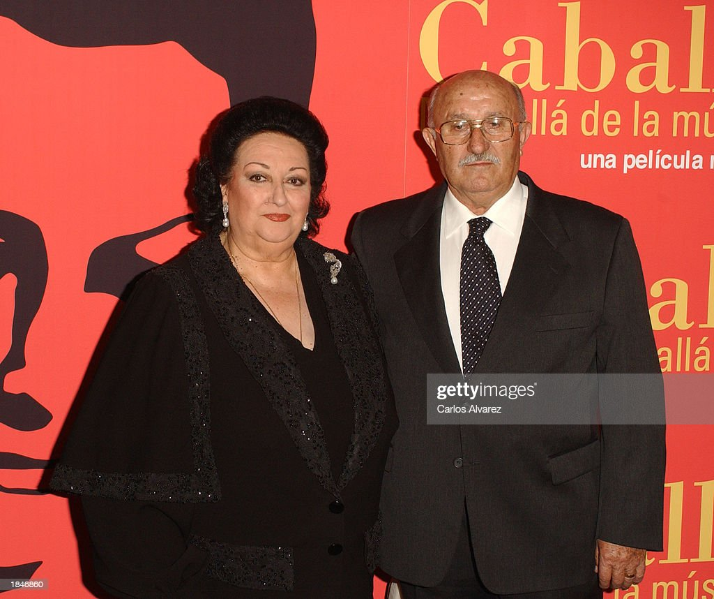Soprano Montserrat Caballe Promotes Documentary : News Photo