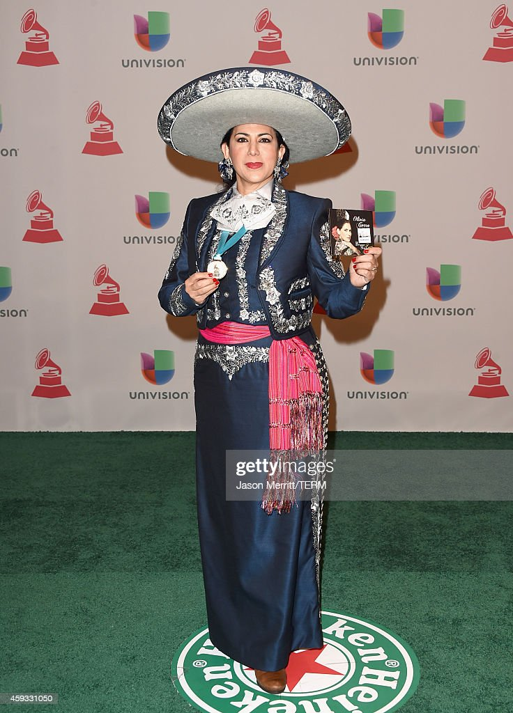 Soprano Olivia Gorra attends the 15th Annual Latin GRAMMY Awards at the MGM Grand Garden Arena on November 20, 2014 in Las Vegas, Nevada.