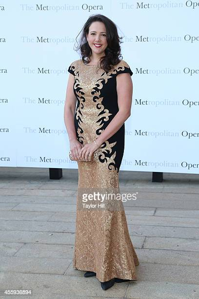 Soprano Susanna Phillips attends the season opening of The Marriage of Figaro at The Metropolitan Opera House on September 22 2014 in New York City