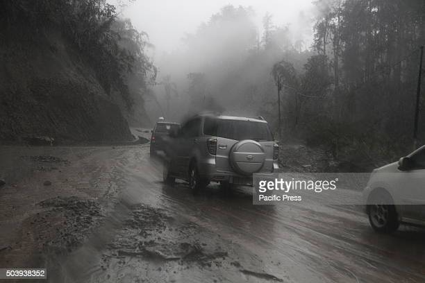 Soputan in Southeast Minahasa, North Sulawesi, erupted and affected areas in Minahasa after volcanic ash vomited from the Volcano. The volcanic ash...