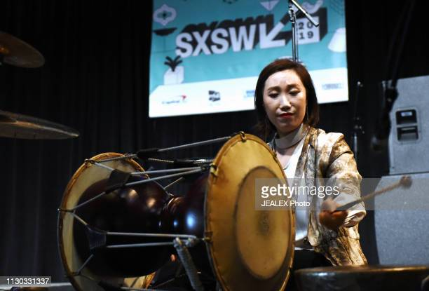 Sora Kim of DUO BUD performs onstage at SXSW presents the International Day Stage during the 2019 SXSW Conference and Festivals at Austin Convention...
