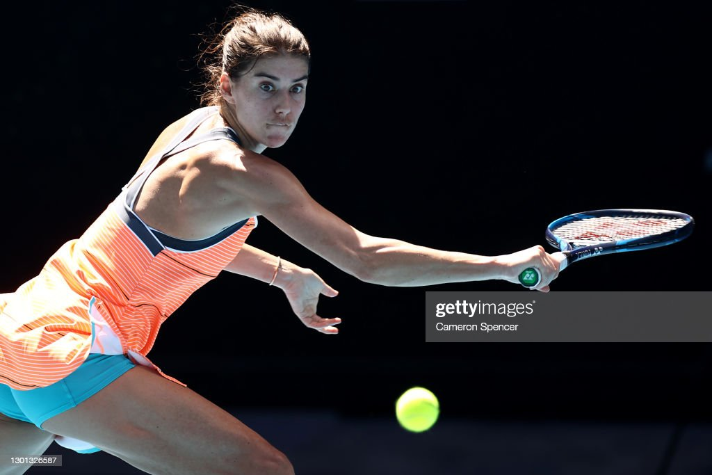 2021 Australian Open: Day 3 : News Photo