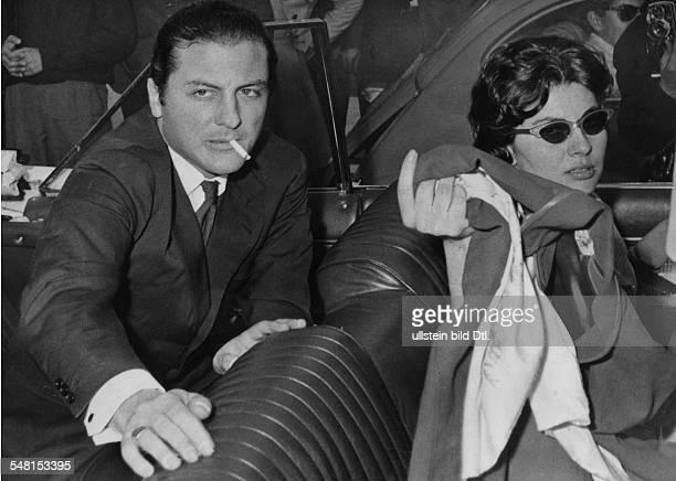Soraya *-+ Kaiserin von Persien 1951-1958, Iran - mit Prinz Raimondo Orsini in Rom - 1960