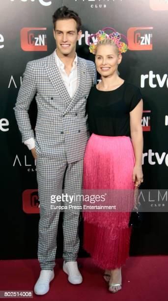 Soraya Arnelas and Miguel Herrera attend 'Corazon' TV Programme 20th Anniversary at Alma club on June 27 2017 in Madrid Spain