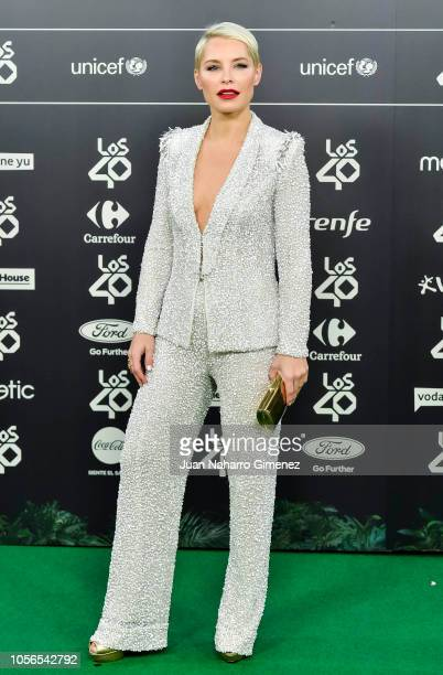 Soraya Arnelas attends during 'LOS40 Music Awards' 2018 at WiZink Center on November 2 2018 in Madrid Spain