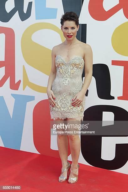 Soraya Arnelas attends 'Salvame Fashion Week' on May 19 2016 in Madrid Spain