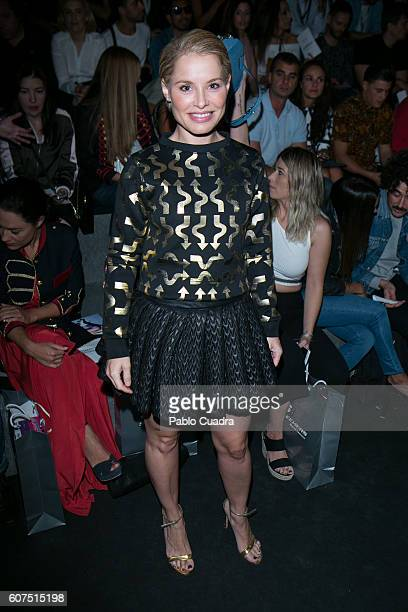 Soraya Arnelas is seen attending MercedesBenz Fashion Week Madrid Spring/Summer 2017 at Ifema on September 18 2016 in Madrid Spain