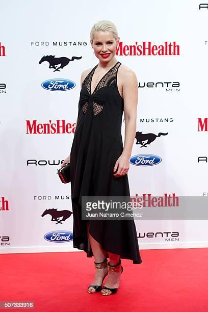 Soraya attends Men's Health 2015 Awards on January 28 2016 in Madrid Spain