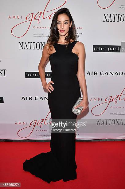 Soraya Azzabi attends the 2015 Toronto International Film Festival 'AMBI Gala' at the Four Seasons Hotel on September 9th 2015 in Toronto Canada