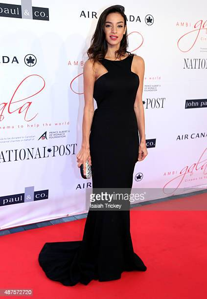 Soraya Azzabi attends the 2015 Toronto International Film Festival 'AMBI Gala' at Four Seasons Hotel on September 9 2015 in Toronto Canada