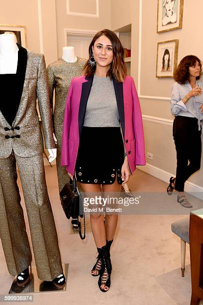 Soraya Bakhtiar attends a cocktail reception hosted by RACIL and MATCHESFASHIONCOM to celebrate the launch of Racil AW16 Collection on September 7...