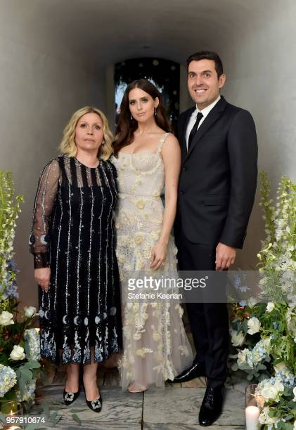 Soraya Refoua Alexa Dell and Harrison Refoua attend Alexa Dell and Harrison Refoua's engagement celebration at Ysabel on May 12 2018 in West...