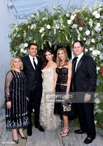 Soraya Refoua Harrison Refoua Alexa Dell Susan Dell and Michael Dell attend Alexa Dell and Harrison Refoua's engagement celebration at Ysabel on May...