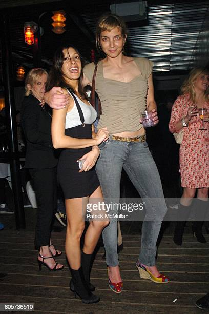 Soraya Silchenstedt and Rachel WIlliams attend INTERVIEW MAGAZINE afterparty for the NY Premiere of THE NOTORIOUS BETTIE PAGE at Bed on April 10 2006...
