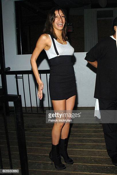 Soraya Silchenstedt attends INTERVIEW MAGAZINE afterparty for the NY Premiere of THE NOTORIOUS BETTIE PAGE at Bed on April 10 2006 in New York City