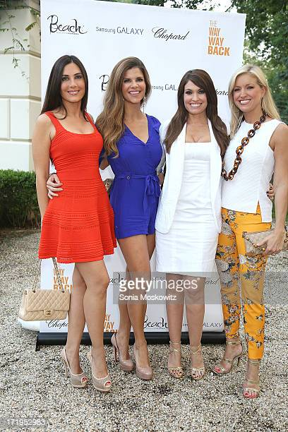 Soraya Whelton Dr Dendy Engelman Kimberly Guilfoyle and Ainsley Earhardt attend A Special Hamptons Screening Of The WayWay Back After Party at Goose...
