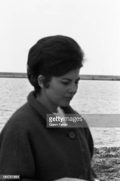 Soraya wife of the Shah of Persia during a holiday in Ibiza Ibiza Balearic Islands Spain