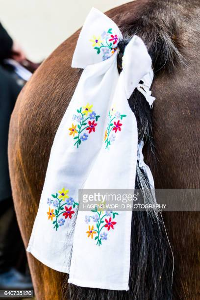 sorbische tradition osterreiten in der lausitz - sorben - horse easter stock pictures, royalty-free photos & images