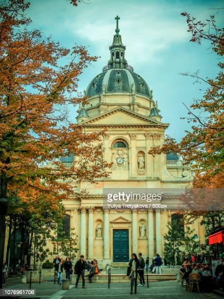 Sorbonne. Paris. Octobre.