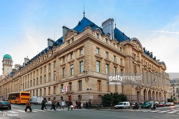 sorbonne university of paris france - university of paris stock photos and pictures