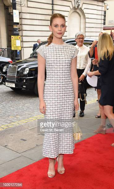 Sorcha Groundsell attends a special screening of The Innocents at The Curzon Mayfair on August 20 2018 in London England