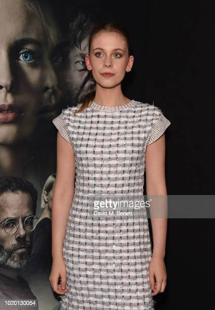 Sorcha Groundsell attends a special screening of 'The Innocents' at The Curzon Mayfair on August 20 2018 in London England