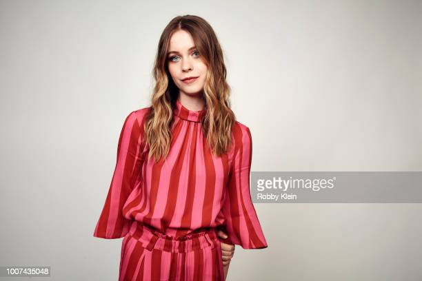 Sorcha Groundsell of Netflix's 'The Innocents' poses for a portrait during the 2018 Summer Television Critics Association Press Tour at The Beverly...